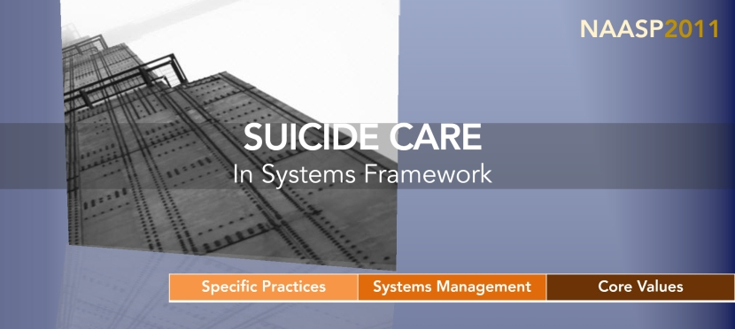 Suicide Care in Systems(2011)